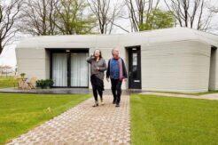 Avrupa'nın ilk üç boyutlu yazıcıyla üretilen yaşanabilir evi inşa edildi