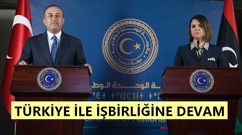 Libya'nın bütünlüğü, egemenliği, bağımsızlığı önemli