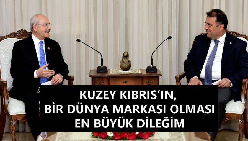 Saner,  Kılıçdaroğlu ve beraberindeki heyeti kabul etti.
