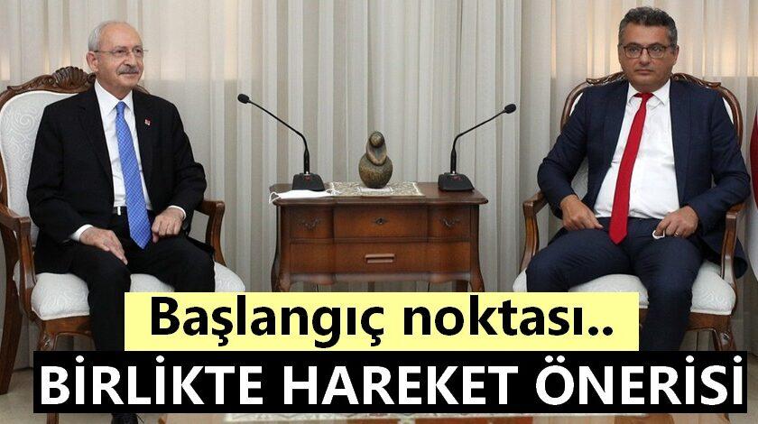 Erhürman,  Kılıçdaroğlu ile bir araya geldi
