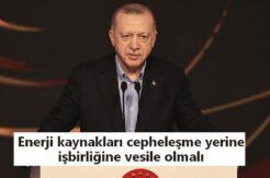 Erdoğan: KKTC'nin iki devletli çözüm önerisini destekliyoruz