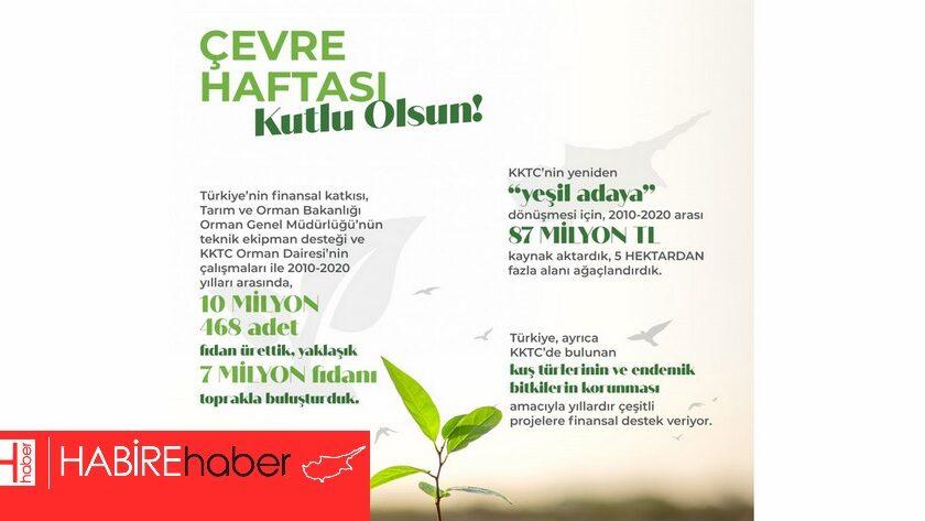 Türkiye Büyükelçiliği,  ormanlara 87 milyon TL kaynak aktardı.
