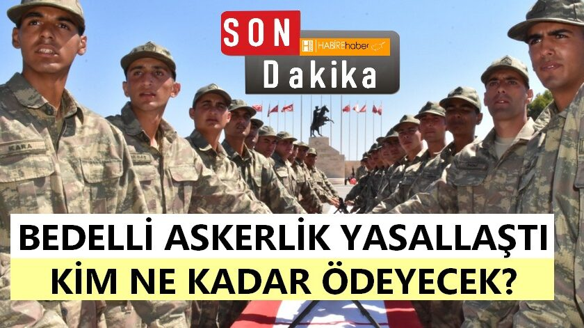Askerlik (Değişiklik) Yasa Tasarısı Oy birliği ile kabul edildi.