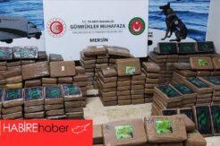 Mersin Limanı'nda yarım ton kokain ele geçirildi