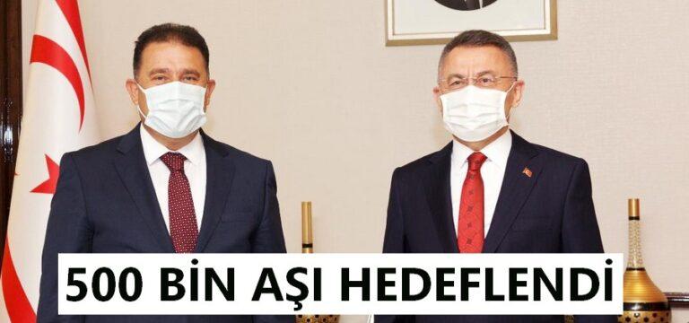 Saner ile  Oktay Ankara'da ortak açıklama yaptı.
